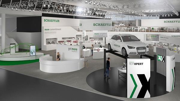 Automechanika 2018 – Schaeffler zabiera odwiedzających w podróż do warsztatu przyszłości