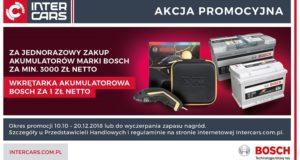 Akumulatorowa promocja Bosch i Inter Cars