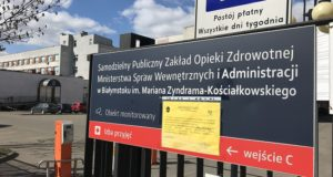 Firma AC S.A. wspiera białostocki szpital w walce z koronawirusem
