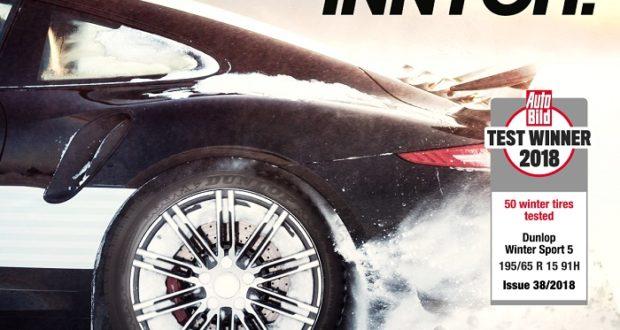Opony Dunlop – maksymalna przyczepność  na zimowe warunki