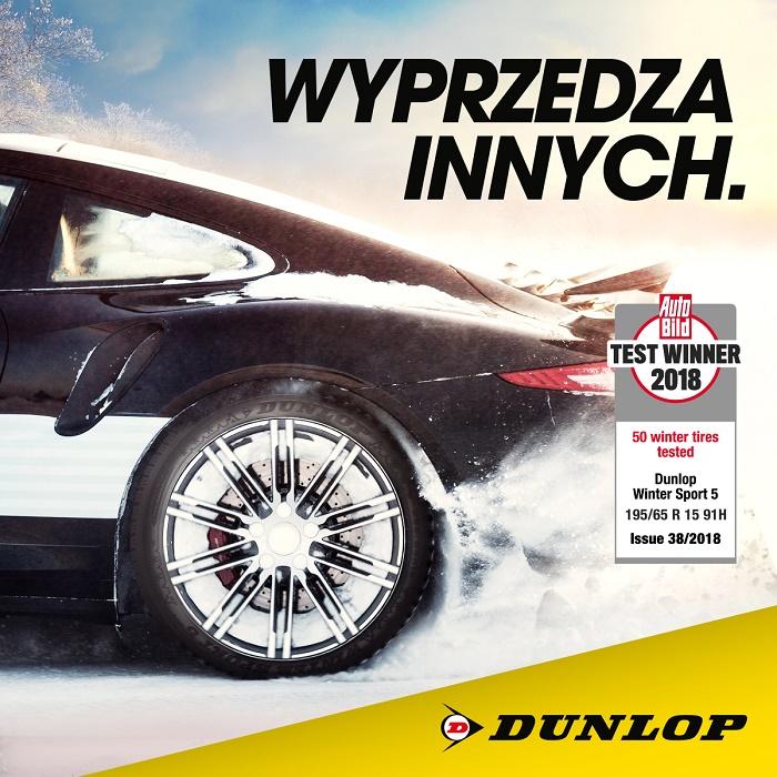 Opony Dunlop Maksymalna Przyczepność Na Zimowe Warunki Auto