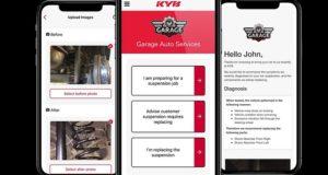 Rozwój aplikacji KYB Suspension Solutions