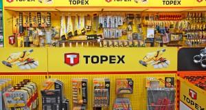 Odkręć koło z marką TOPEX